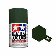 TAMIYA COLORE SPRAY PER PLASTICA DARK GREEN VERDE SCURO 100ml    ART TS2