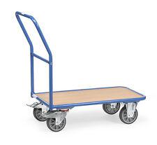 Magazinwagen Plattformwagen Ladefläche 850x500mm Tragkraft 400kg Fetra 2100