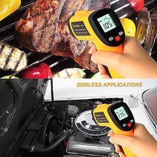 Infrarot Thermometer Laser Temperaturmessgerät -58~716°F(-50 bis 380°C)