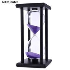 60 Minutes Sand Timing 1 Hour Watch Wood Color Sand Crafts Creative Home Decor..
