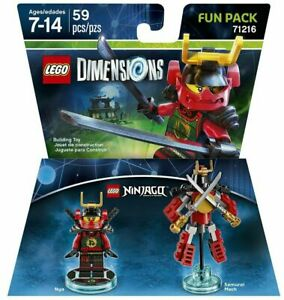 LEGO Dimensions Ninjago NYA & Samurai Mech 71216 Fun Pack 71216 - Sealed - New