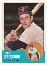 EDDIE BRESSOUD 1963 Topps Baseball  # 188 Boston Red Sox Ex Plus