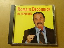 CD / ROMAIN DECONINCK: DE PEPERBUS