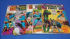 world's finest 165 171 172 180  183 DC comics lot 1967/1968