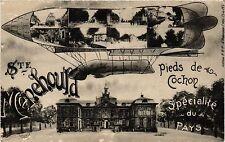 CPA Sainte-Menehould, Pieds de Cochon. Specialité du Pays (346430)