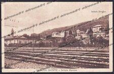 GENOVA CITTÀ 758 QUINTO - FERROVIA - ISTITUTO DOROTEE Cartolina VIAGGIATA 1911