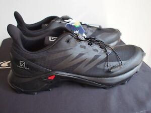 Salomon Mens Supercross Blast Trail Running Shoe - Black