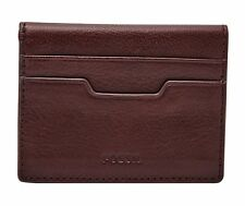 FOSSIL Ellis Magnetic Card Case Wine