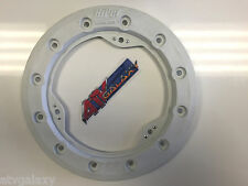 "Hiper 10"" Modified Bead Lock Ring Wheel Ring CF1/Tech 3 White Beadlock Mud Plug"