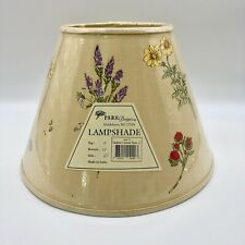 """Park Designs Lampshade Gardener's Journal Shade 12"""" Floral New with small defect"""