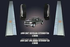 2000-07 CHEVY SILVERADO SIERRA 4DR EXTENDED CAB ROCKER PANELS & CAB CORNERS PAIR
