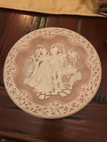 Benedick And Beatrice Collectible Plate Bradex No. 84-I31-8.5 From 1990