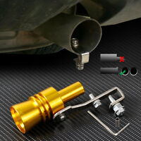 Silver JDM Turbo Sound Blow Off Hooter Valve Analog BOV Muffler whistle Large