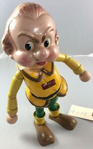 """11"""" Antique American Composition Gabby from Gulliver's Travel Doll! 18039"""