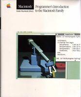 1980s Apple Macintosh Family Programmers Guide 1984 128K Mac SE Mac II Mac Plus