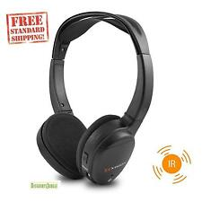 XO Vision IR620 Universal IR Infrared Wireless Foldable Headphones for In-Car