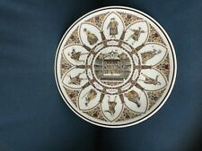 """Wedgwood Shakespeare Characters All The Worlds A Stage 10"""" Collectors Plate"""