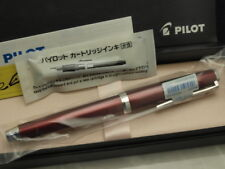 Pilot ELABO / FALCON Flexible nib Soft-EF-nib Metal Red Barrel with CON-70