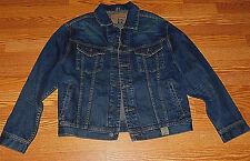 Abercrombie Kids Dark Denim Boys Jean Jacket Size X-Large