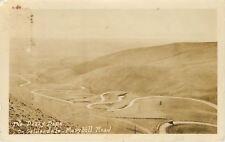 Goldendale Maryhill Road Washington~Dizzy Dips~1930s Real Photo Postcard~RRPC