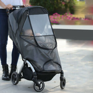 UPF50+ Baby Stroller Cover Oxford Full Protection Mosquito Net for Baby Joger