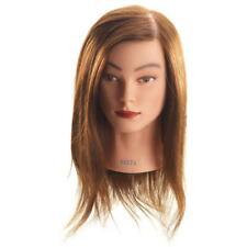 Hi Lift Mannequin Head Anita - Long Brown (40-45cm) - Limited Stock - Free post