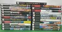 PlayStation 2 Game lot Of 23 PS2, Racing, Sports, RPG, Fantasy, All Complete