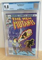 MARVEL New Mutants #1 Comic Key Newsstand Variant CGC 9.8 Claremont Mcleod NM