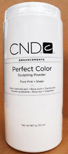 CND Enhancements Sculpting Powders Perfect Color 3.7 oz or 32 oz. Your Choice