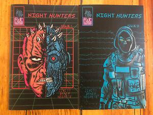 Night Hunters Alexis Ziritt #1-2nd Print & #2-1st Print Latin American Cyberpunk