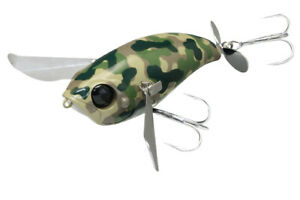 Jackall Top Water Bug POMPADOUR # Army Green Camo NEW J294