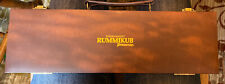 PRESSMAN GAME TOURNAMENT RUMMIKUB IN A BROWN LEATHER CASE NICE Complete
