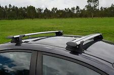 Aero Roof Rack Cross Bar for Ford Territory 04-17 Alloy Lockable 120cm Extended