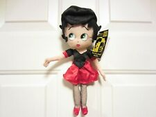 """Betty Boop The Biker 10"""" Plush Collectible Doll ~ Christmas Gift Topper Nwt"""