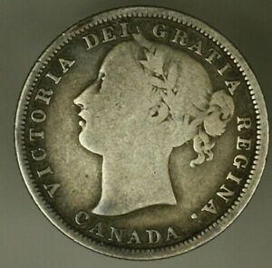 Canada Silver 20 Cents 1858  A2363