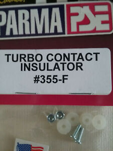 PARMA # 355-F NEW Turbo Contact Insulator For Turbo Controller