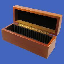 Wood Storage Box Case 20 Certified Coin Slabs PCGS NGC ANACS Premier Elite