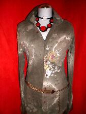 PEPE JEANS BLUSE JEANSHEMD BLUSE Shirt HIPPIE STICKEREI BLOGGER M 38 40 NEUW.!!