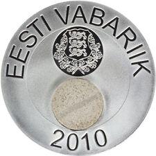 ESTONIA ESTLAND ESTONIE – 50 krooni silver collector coin 2010 - Estonian Nature