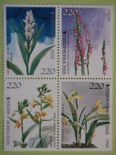 Korea 2005 Orchids Block/4 Orchid Scent Impregnated MNH Sc#2210