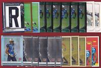 KENNY BRITT RC 2009 FINEST AUTO PATCH #/49 TOPPS CHROME REFRACTOR +++ LOT OF 22