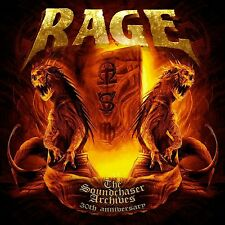 RAGE -  The Soundchaser Archives 30th Anniv 2CD+DVD DIGI EDITION!!