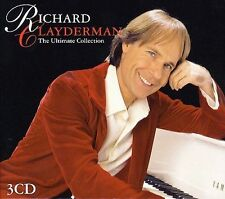 The Ultimate Collection by Richard Clayderman (CD, Sep-2005, 3 Discs, Metro Triples)