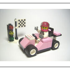 ☆NEW☆ Lego City Pink Race Car & Female / Girl Minifigure Instructions Included!