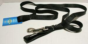 "NWT PetSafe Nylon Dog Puppy Leash 6' x 3/4"" Black"