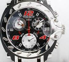 VINTAGE MEN'S TISSOT 1853 NASCAR INSPIRED - T RACE CHRONOGRAPH - 42 MM