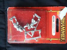 Warhammer Fantasy Ungor with Spear Command (8521H) New in Package OOP Metal 1997