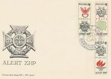 Poland FDC (Mi. 1928-30) Scouting #1