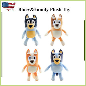 20cm Bluey's Family Plush Toys For Children Gifts Collection Dolls