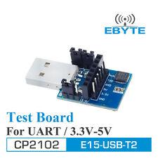 CP2102 USB-TTL Adaptor Ebyte E15-USB-T2 3.3V or 5V Serial Port Adaptor for test